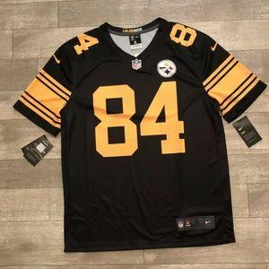 Nike Men's Color Rush Pittsburgh Steelers Antonio